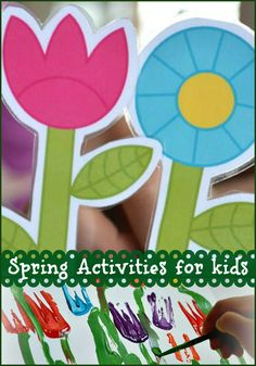 Learn with Play at home: 10 Spring Activities for Kids. Nature Inspired Fun! (We'd do these activities and crafts all year round!)