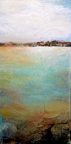 """Wetland"" 12x24 www.karenhale.com"