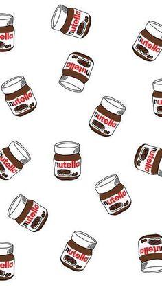 Resultado de imagem para fundo nutella