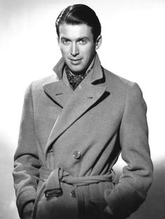 James Stewart - some many attributes about Jimmy make the total package handsome!