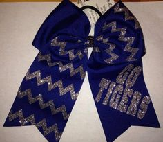 University of Memphis cheer bow