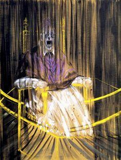 Study after Velázquez's Portrait of Pope Innocent X, 1953, Francis Bacon
