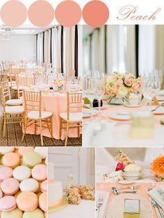 Dynamite and pearls wedding peach weddings weddings and wedding bells spring bridesmaid dresses 2014 peachy keen junglespirit Images