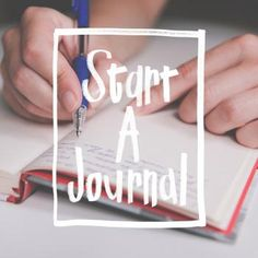 Day 1 > Start a Journal | 40 Acts {of Lent}