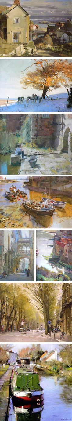 Various Landscapes by the great artist David Curtis