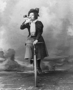 So what do bikes have to do with women?  It turns out  that they had a revolutionary impact on the women's movement of the early 20th century. Here are some interesting facts: