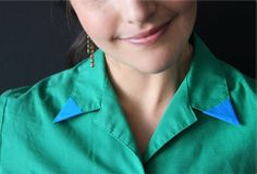 Make your collar pop by @Brit Morin #ScotchStyle http://scotchducttape.com/projects/make-your-collar-pop
