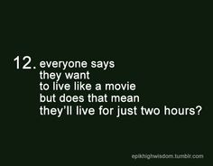 Epik High Wisdom too true. I want to live more than two hours of my life.