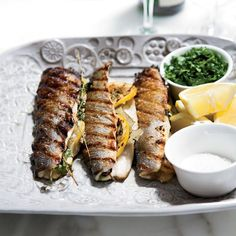 Grilled Fish on Food & Wine