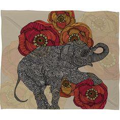 Rosebud Throw Blanket - Valentina Ramos on Joss and Main