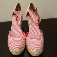 0d689f87e3c3 7 Best red espadrille wedges images
