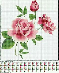 This post was discovered by Lina Kostenko. Discover (and save!) your own Posts on Unirazi. Cross Stitch Love, Cross Stitch Flowers, Cross Stitch Charts, Cross Stitch Designs, Cross Stitch Patterns, Cross Stitching, Cross Stitch Embroidery, Embroidery Patterns, Bordado Tipo Chicken Scratch