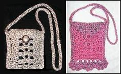 Make Your Own Cell Phone Case with This Free Crochet Pattern: Openwork Crochet Cell Phone Bag