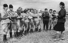 Nightwitches: Russian females who bombed Germany during WWII. In old, noisy planes with engines that would conk out halfway through mission, they had to climb out on the wings mid-flight to restart the props. To prevent Germans from hearing & firing on them, they climbed to a certain height, coasted down to German positions, dropped their bombs, restarted their engines mid-air & made their getaways. Their leader flew 200+ missions & was never captured.