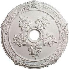 Attica with Rose - Urethane Ceiling Medallion - #CM26AT