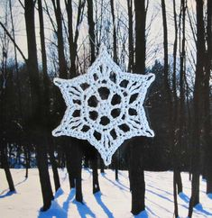 FREE DIAGRAM ~ Wishing everyone a beautiful holiday week-end and a wonderous New Year in 2012. In celebration of this time of year I am sharing a fun little snowflake pattern with you. For now it is just a stitc...