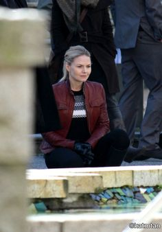 """Jennifer Morrison - Behind the scenes - 5 * 23 """"An Untold Story"""" - 28 March 2016"""