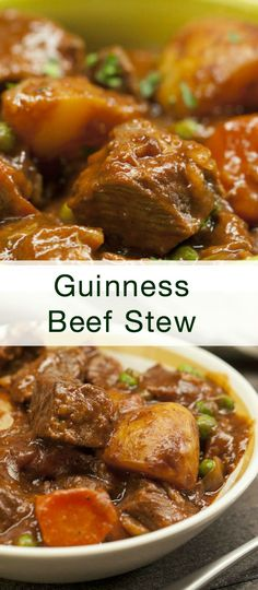 Hearty Irish Guinness Beef Stew I look forward to every St. Patrick's Day.