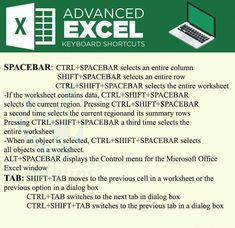 Excel Tip and Tricks 11 Computer Shortcut Keys, Computer Basics, Computer Help, Computer Tips, The More You Know, How To Know, Microsoft Excel Formulas, Financial Statement Analysis, Excel Hacks