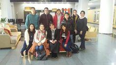 Junto a un grupo de estudiantes de #OrganizaciondeEventos #SheratonMardelPlata #Argentina #eventos #turismo