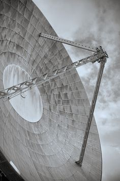 This is Arthur, born in 1962 he is the World's first parabolic satellite communications antenna.  He also happened to receive the first transatlantic TV transmission.