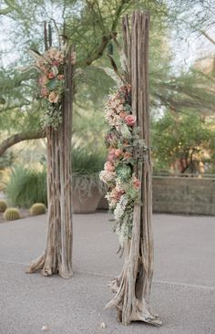 80 EyeCatching Desert Wedding Ideas is part of Wedding alter flowers Desert weddings are gaining popularity as choosing such a place you get good weather, exotics and eyecatching details Desert the - Wedding Ceremony Ideas, Wedding Arbors, Wedding Events, Wedding Pillars, Arch Wedding, Weddings, Wedding Alter Flowers, Flower Decorations, Wedding Decorations