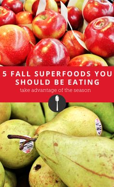 5 fall superfoods you should be eating to maintain a healthy diet even when locally grown food and produce may be difficult to find.