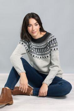 no - gjesdal-tora-genser Pullover, Knitting, Sweaters, Stuff To Buy, Fashion, Cast On Knitting, Moda, Tricot, Stricken