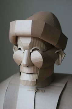 Shaoxing, série de sculptures en carton grandeur nature de Warren King - Journal du Design