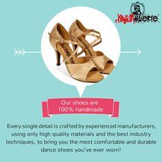 100% Handmade #latin #dance #shoes