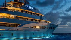 Lurssen 88m (288ft) MY/Quattroelle is available for charter at $1M per week.It can accomodate up to 12 guest in 9 cabins with a crew of 28
