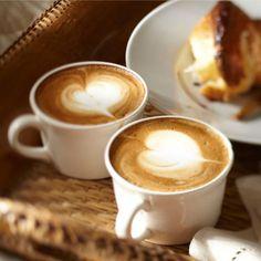 Coffee cup love.