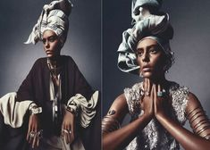 """WHITE MODEL ONDRIA HARDIN POSES FOR NUMERO MAGAZINE AS """"AFRICAN QUEEN"""" – WHERE ARE ALL THE BLACK MODELS?"""