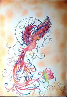 Phoenix bird quotes symbols 27 New Ideas Feather With Birds Tattoo, Small Bird Tattoos, Little Bird Tattoos, Black Bird Tattoo, Tiny Tattoo, Phoenix Tattoo Feminine, Phoenix Tattoo Design, Tattoo Phoenix, Phoenix Images