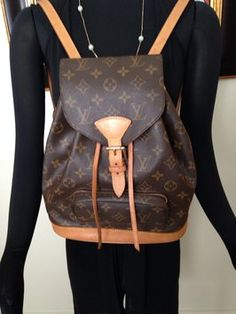 Louis Vuitton Montsouris Mm Backpack $614