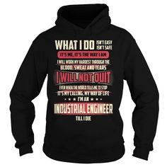 Industrial Engineer We Do Precision Guess Work Knowledge T-Shirts, Hoodies. BUY IT NOW ==► https://www.sunfrog.com/Jobs/Industrial-Engineer-Job-Title-T-Shirt-Black-Hoodie.html?id=41382