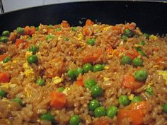 Fried Rice! Who needs {insert favorite japanese grill restaurant here} when you can make this at home?!