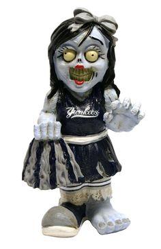 New York Yankees Zombie Cheerleader Figurine