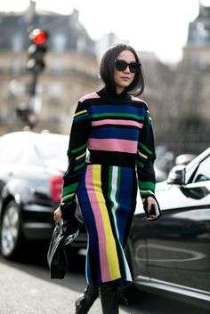 See the Street Style Taking Over Paris Fashion Week