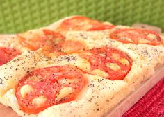 Focaccia pugliese ai pomodori   #vegan #vegetarian
