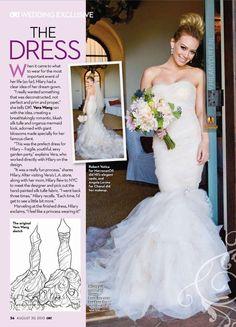 Hillary Duff bride