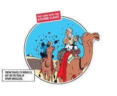tintin and the crab withe the golden claws
