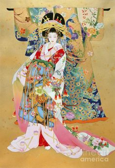 Haruyo Morita. Japanese artist.