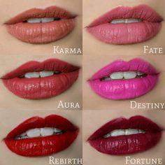 Makeup Revolution Lip Euphoria - Karma - Aura