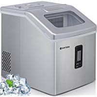 Sentern Portable Clear Ice Maker Machine Electric Stainless Steel