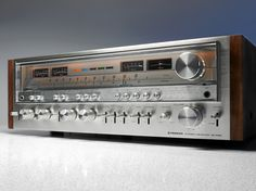 https://flic.kr/p/qdNd7F | Pioneer SX-1080 Stereo Receiver | 1979 Pioneer SX-1980, 1280 and 1080 are the three largest receiver of the end of the seventies golden HiFi years. They were the uncompromising top sellers in the international market receiver that you could buy in the HiFi-Studios. Comparable stereo there was still made by manufacturers like Sansui, Marantz and a few other manufacturers, at least from the then leading Japanese productions.  The SX-1080 offers a power output of 140…