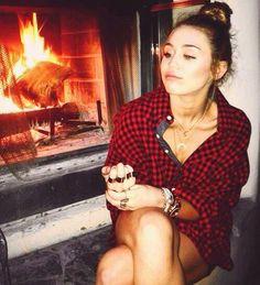 I always go back and forth on whether I like Miley, but I feel like she is the kind of girl who gave everything into her love and was still left with nothing.. I can relate with and respect that.