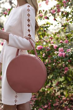 Atlantic-Pacific blog // in Savannah, Pink Scallop Dress, Blush Flats