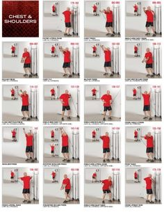 Chest and Shoulders Tower 200 Exercices