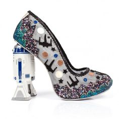 Battle with Artoo   Shoes, Mid Heels   Irregular Choice   R2D2 Star Wars style   all of these r2d2 ones are p cool to me, so i'm pinning all~~